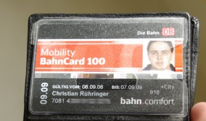 Mobility BahnCard 100